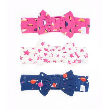 Rosie Pope Baby Girls' 3-Pack Headwrap Set