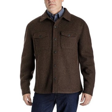 LONDON FOG CALIFON WOOL SHIRT JACKET BHTHR