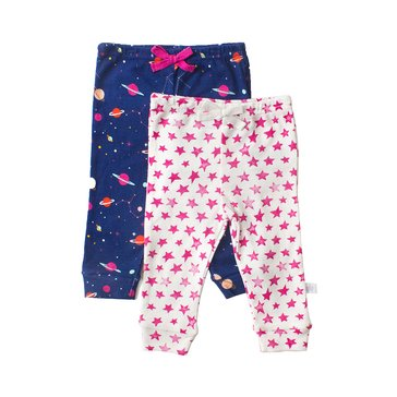 Rosie Pope Baby Girls' 2-Pack Pants Set