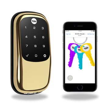 Yale Lock Bluetooth Brass (TRD446-NR-605)