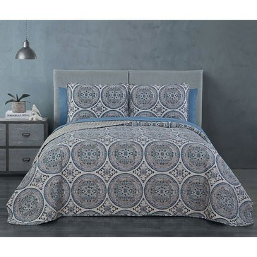 Zhara 7-Piece Quilt Set - Full/Queen