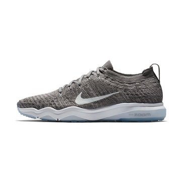Nike Air Zoom Fearless Flyknit Lux Women's Training Shoe - Gun smoke / White / Atmosphere Grey