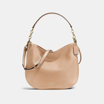 Coach Pebble Chelsea 32 Hobo Beechwood