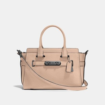 Coach Pebble Refresh Coach Swagger 27 Satchel Beechwood