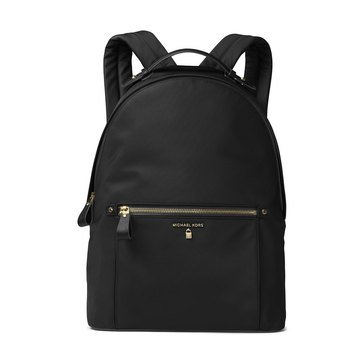 Michael Kors Nylon Kelsey Large Backpack Black