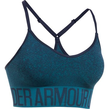 Under Armour Seamless Ombre Novelty Bra, Midnight Navy/Bayou Blue