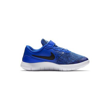 Nike Flex Contact Preschool Boys Running Shoe Racer Blue/Black