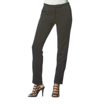 Karl Lagerfeld Ponte Pant in Black