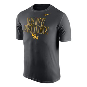 Nike Men's Navy Nation Dri-Fit Legend Short Sleeve Tee