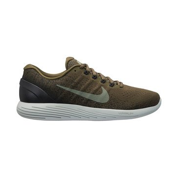 Nike Lunarglide 9 Men's Running Shoe - Medium Olive / Dark Stucco / Black