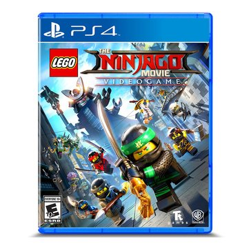 PS4 The Lego Ninja Go Movie Video Game
