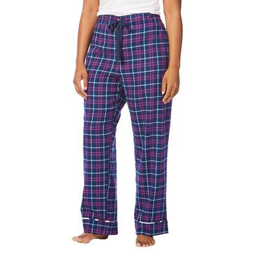 Tommy Hilfiger Plus Freemont PJ Pant Cataliano Plaid Navy