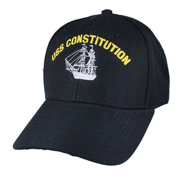 Eagle Crest Men's USS Constitution Hat With Flag