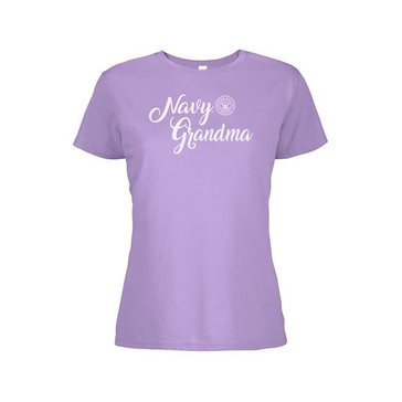 Soffe Women's Navy Grandma Softspun Short Sleeve Tee