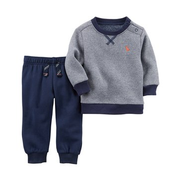 Carter's Baby Boys' 2-Piece Jogger Pant Set