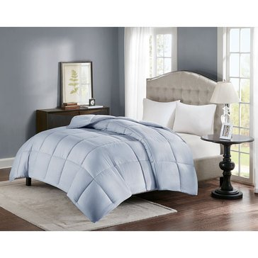 Premier Comfort Down Alternative Seersucker Comforter, Whisper Blue - Full/Queen