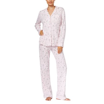 Charter Club Notch Collar PJ Shaded Floral