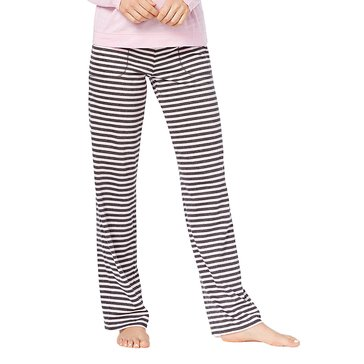 Jenni by Jennifer Women's Moore Pink Lurex Stripe Pants