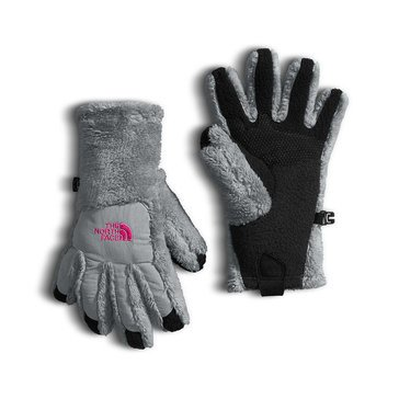 The North Face Big Girls' Denali Thermal Etip Glove, Silver