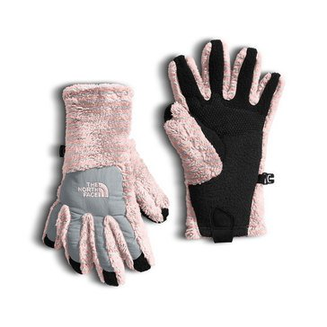 The North Face Big Girls' Denali Thermal Etip Glove, Pink