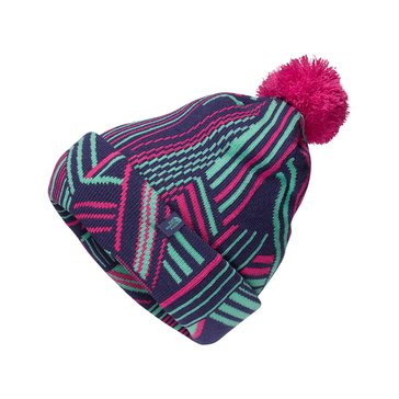 The North Face Big Girls' Ski Tuke Retro Hat, Bright Navy
