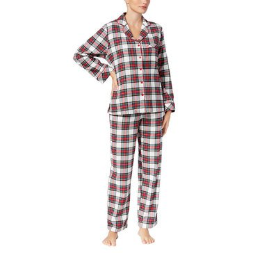 Charter Club Flannel Notch Pajamas