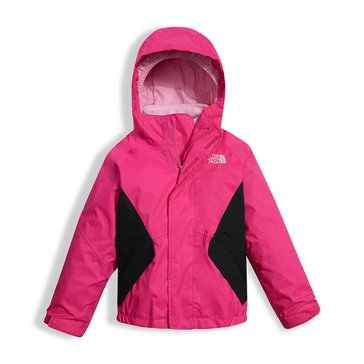 The North Face Toddler Girls' Kira Triclimate System Jacket, Petticoat Pink