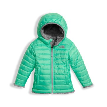 The North Face Toddler Girls' Mossbud Swirl Jacket, Bermuda Green