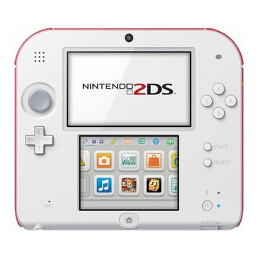 2DS Scarlet Red w/ Super Mario Bros 2