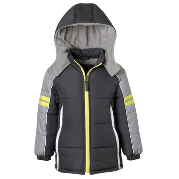 iApparel Baby Boys' Colorblock Active Puffer