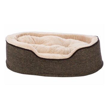 Harmony Cuddler Orthopedic Dog Bed in Tweed 28