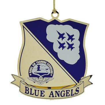 Chemart Blue Angels Logo Ornament