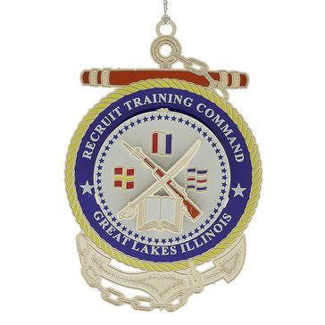 Chemart Recruitment Training Command Great Lakes, IL Ornament