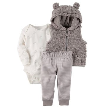 Carter's Baby Boys' 3-Piece Vest Set