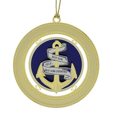 Chemart Not For Self But For Country / USN 1775 Ornament