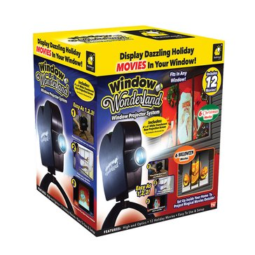 As Seen On TV Star Shower Window Wonderland Projector