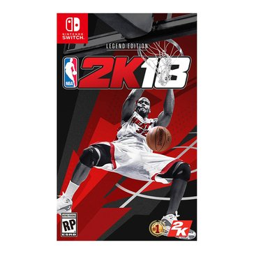 Switch NBA 2K18: Legend Edition