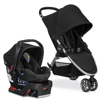 Britax B-Agile 3 Travel System With B-Safe 35, Black