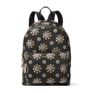 Michael Kors Wythe Large Backpack Black/Gold