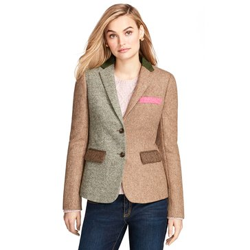 Brooks Brothers Fabric Patch Blazer in Multi