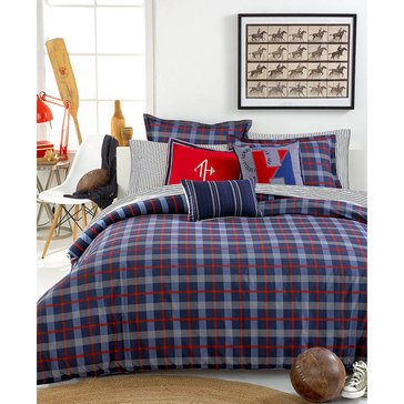 Tommy Hilfiger Boston Plaid Comforter Set - Full/Queen