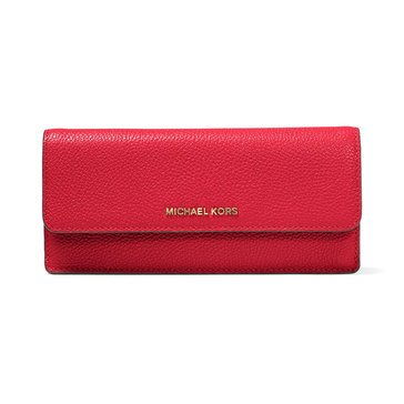 Michael Kors Flat Wallet Bright Red