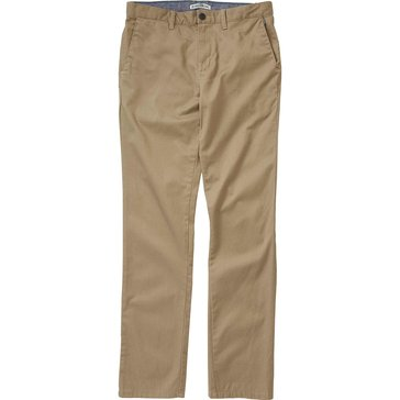 Billabong Big Boys' Carter Chino Pants, Dark Khaki