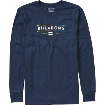 Billabong Big Boys' Dual Unity Tee, Navy