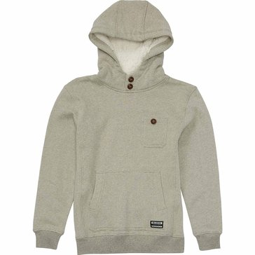Billabong Big Boys' Hudson Fleece, Oatmeal