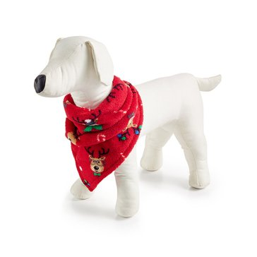 Charter Club Dog Bandana Holiday Family PJs Reindeer