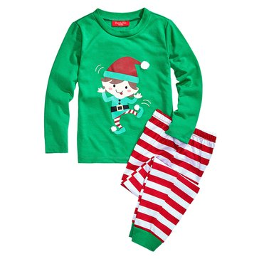 Charter Club Kids Holiday Family PJs Elfing Candy Cane