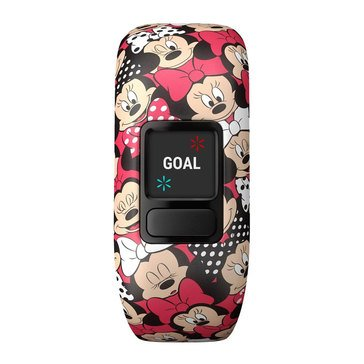 Garmin Vivofit Jr. Fitness Tracker - Disney Minnie Mouse Stretchy Band