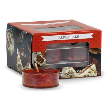 Goose Creek 12-Pack Tealight, Carrot Cake