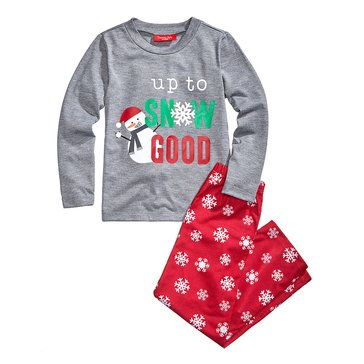 Charter Club Kids Holiday Family PJs Meltdown Snowflake